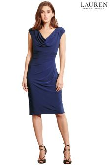 Lauren Lighthouse Navy Valli Bodycon Dress