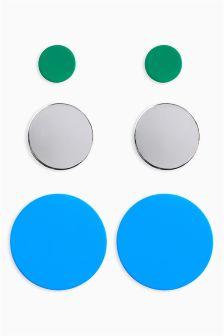 Flat Circle Stud Pack