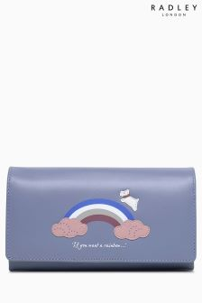 Radley Blue Rainbow Matinee Purse