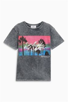 Los Angeles Acid Washed T-Shirt (3-16yrs)