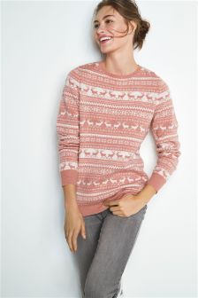 Christmas Fairisle Pattern Sweater