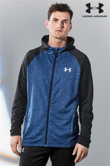 Under Armour Blue Tech Zip Through Hoody