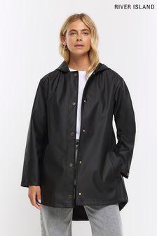 Teal Leaf Trail Print Eyelet Curtain Fabric Sample