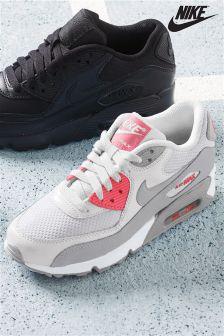 Nike Grey/Pink Air Max 90