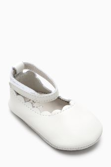 Mary Jane Pram Shoes (Younger)