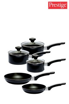 5 Piece Prestige Everyday Aluminium Pan Set