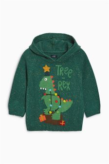 Crochet Tree Rex Jumper (3mths-6yrs)