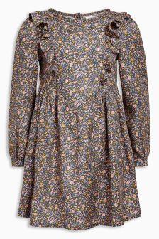 Ditsy Frill Dress (3mths-6yrs)