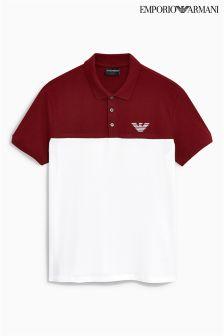 Emporio Armani Colourblock Poloshirt