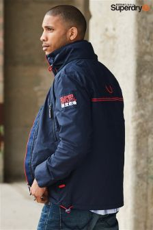 Superdry Navy Wind Attacker Jacket