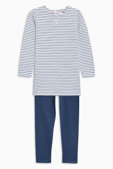 Stripe Tunic Set (3mths-6yrs)