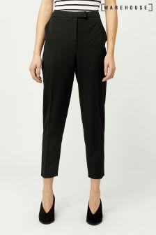 Warehouse Black Classic Slim Leg Trouser