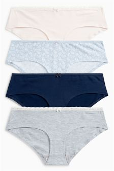 Printed Shorts Four Pack