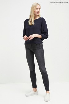 French Connection Charcol Rebound Skinny Jean