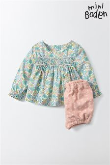 Boden Multi Pretty Printed Playsuit