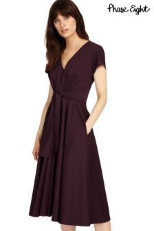 Phase Eight Fig Leia Tie Dress