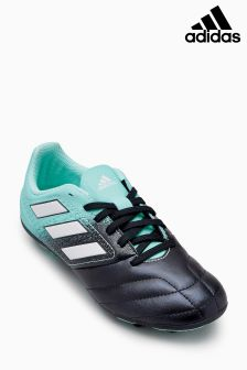 adidas Black/Blue Ace 4 Firm Ground