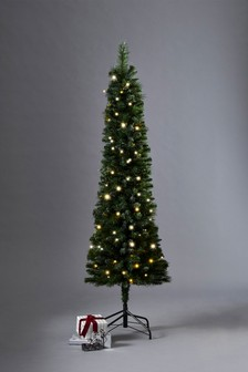 7ft Black Christmas Tree