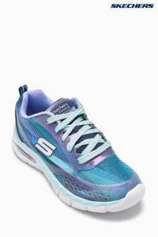 Skechers® Blue Printed Lace Up