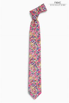 Signature Ditsy Floral Tie