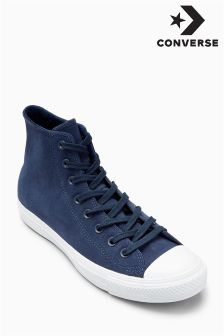Converse Navy Plush Suede Hi Top