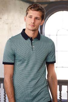 Premium Jacquard Poloshirt