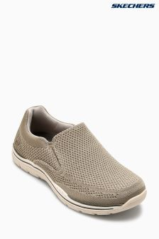 Skechers® Taupe Expected Gomel Slip-On Shoe