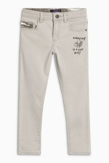 Doodle Camo Skinny Trousers (3-16yrs)