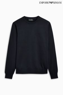 Emporio Armani Crew Neck Knitted Jumper