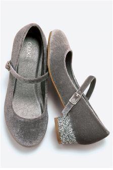Glitter Heel Mary Jane Shoes (Older Girls)