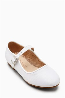 Mary Jane Bridesmaid Shoes (Younger Girls)