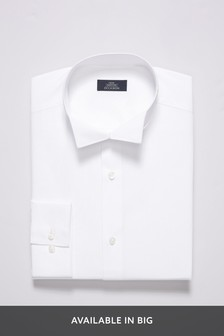 Wing Collar Slim Fit Shirt