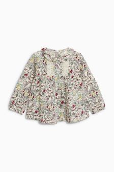 Ditsy Broderie Blouse (3mths-6yrs)