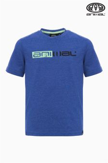 Animal Sketchy Blue Graphic Tee