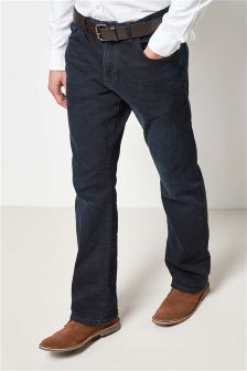 Belted Jeans