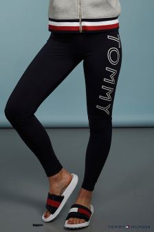 Tommy Hilfiger Blue Athletic Heritage Legging