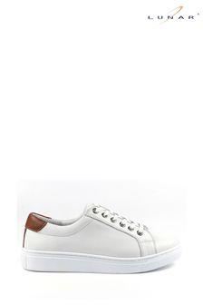 Karen Millen Black/White Lace Detail Striped Jumper