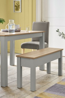 Malvern Dining Table And Bench Set