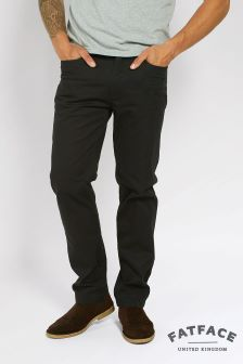 Fat Face Black Corby Trouser