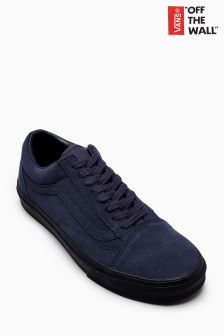 Vans Navy/Black Suede Old Skool