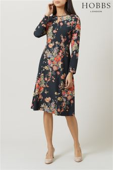 Hobbs Navy Cecilia Dress