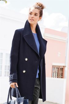Womens navy parka jacket uk