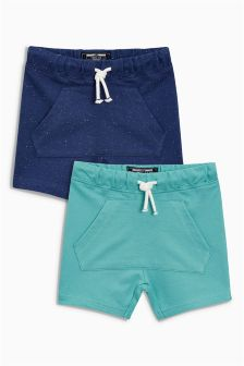 Kanga Pocket Shorts Two Pack (3mths-6yrs)