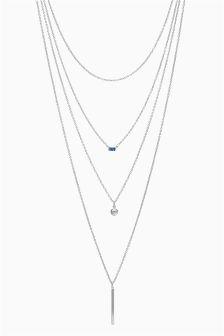 Jewel Multi Layer Delicate Necklace