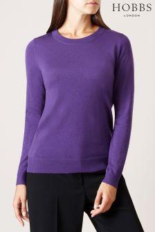 Hobbs Purple Penny Sweater