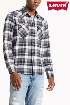 Levi's® Barstow Western Wintercress Dark Heather Grey Shirt