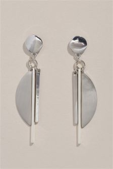 MIxed Shape Drop Earrings