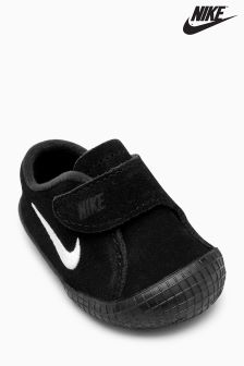 Nike Black Waffle Crib