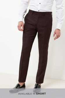 Signature Tuxedo Slim Fit Suit: Trousers