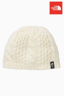 The North Face® White Minna Beanie